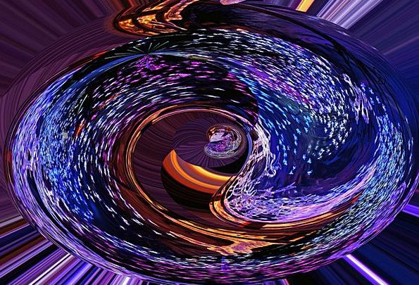 Blue Azure Elaborate Roundabout Indirect Purple Mo