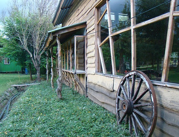 Farm House Buildings Frontage Architecture Archite