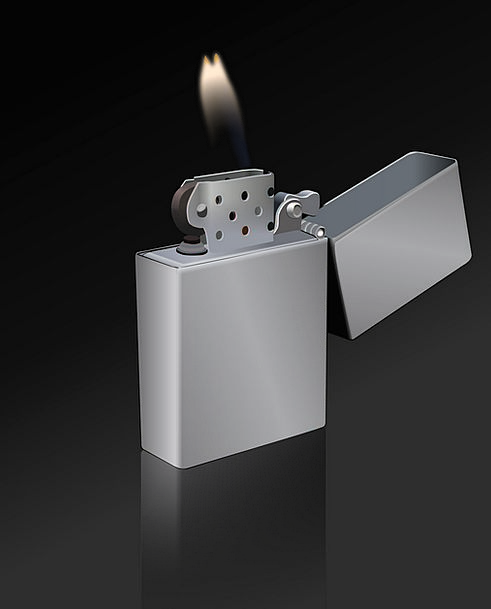 Lighter Brighter Blaze Fire Passion Flame Habit Ci