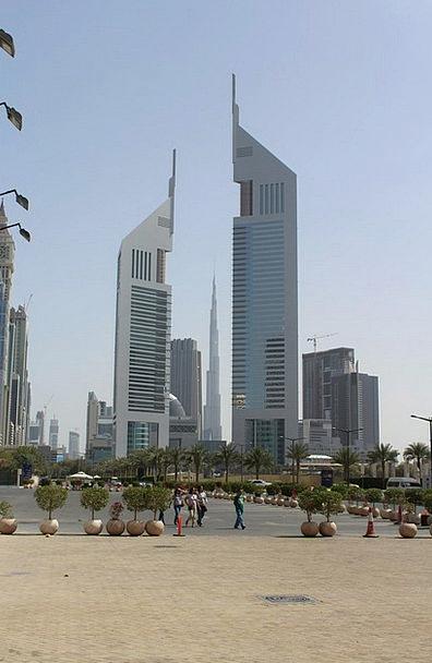 Dubai Buildings Tower Architecture City Urban Skys