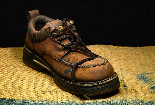 Boot Gumboot Skin Shoe Leather Mawanella Old Ancie