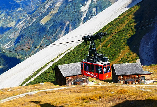 Gondola Luenersee Cable Car Mountain Railway Cable