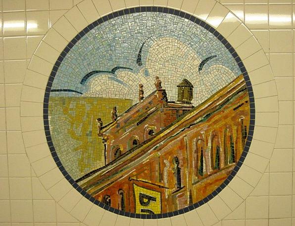 Mosaic Medley Textures Inlay Backgrounds Subway Un