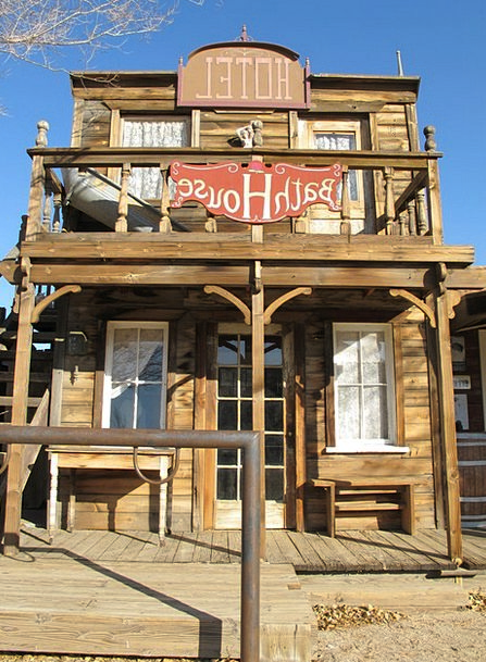 Bath House Ghost Town Western Town Wild West Old W