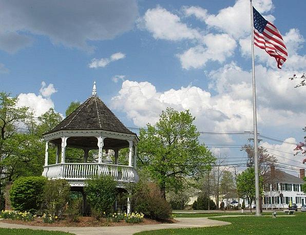 Town Center Massachusetts Billerica
