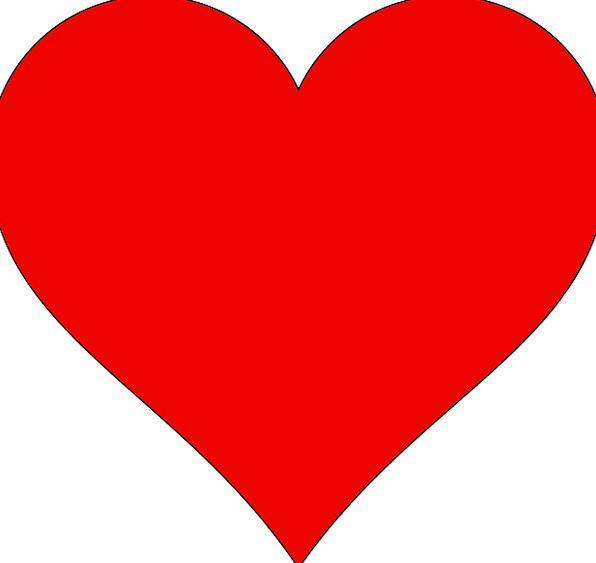 Heart Emotion Bloodshot Love Darling Red Valentine