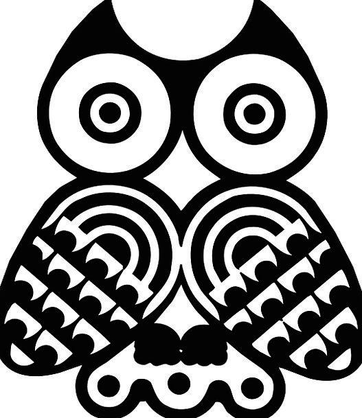 Owls Fowl Black Dark Bird Strigiformes White Snowy