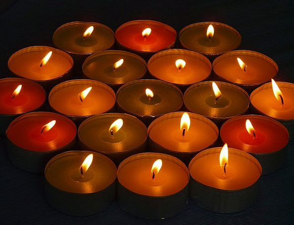 Candle Taper Tapers Tealight Candles Security Tea