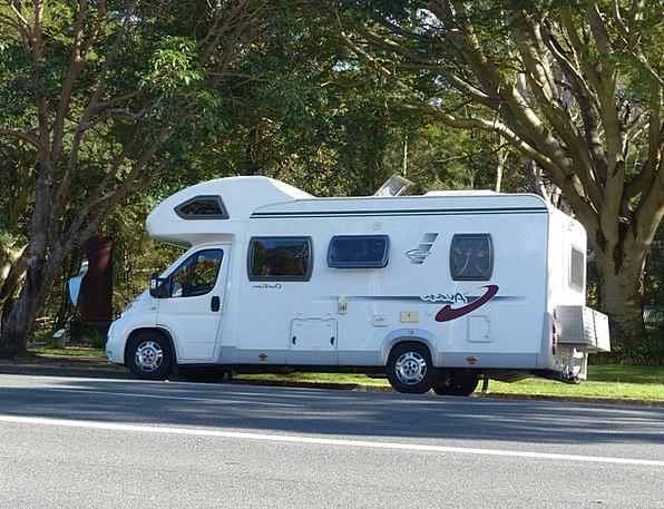 Motorhome Vacation Vacationer Travel Holiday Break
