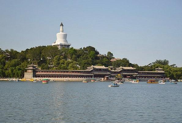 Pagoda Vacation Travel China Porcelain Beijing Tib