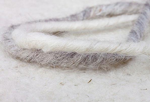 Sheep'S Wool Natural Fiber Sheep Wool-Felt Soft Na
