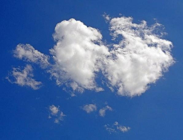 Cumulus Cloud Mist Cumulus Clouds Sky Spring Blue