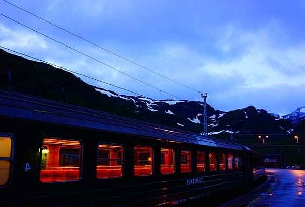 Mountain Railways Peulraem Norway Nordic Travel