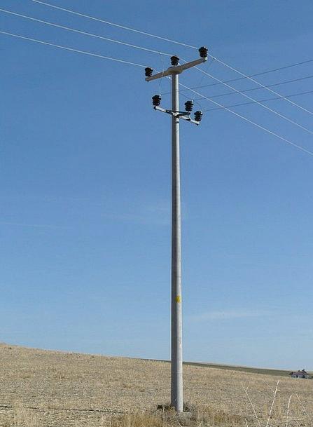 Strommast Power Current Present Electricity Pylon