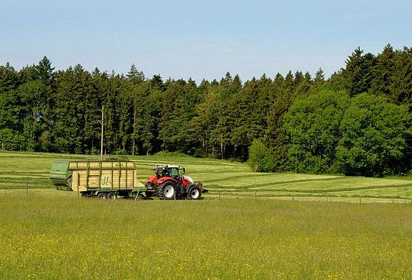 Bauer Landscapes Farming Nature Tractor Agricultur
