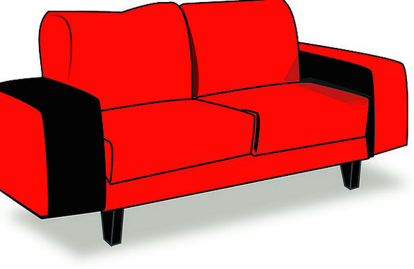 Couch Buildings Bloodshot Architecture Sofa Lounge