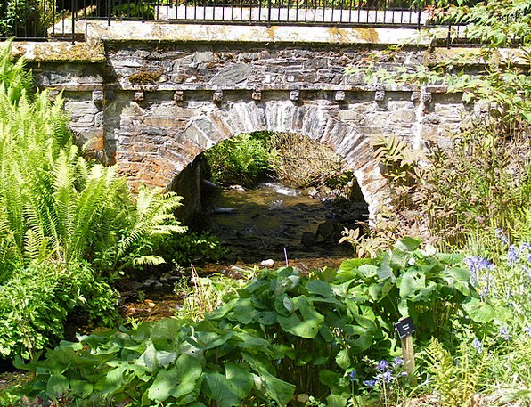 Bridge Bond Fences Stone Pebble Railings Arch Play