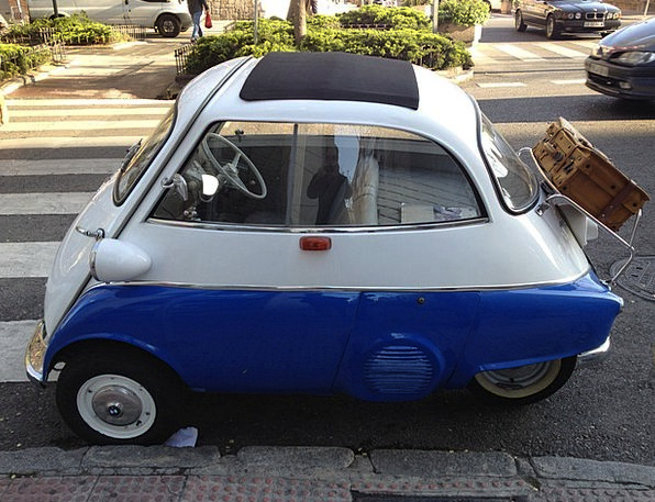 Isetta Traffic Transportation Auto Bmw Design Proj