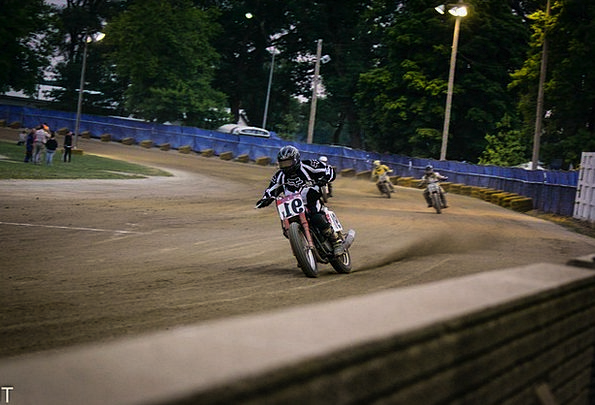 Motorcycle Motorbike Competition Curve Arc Race Fa