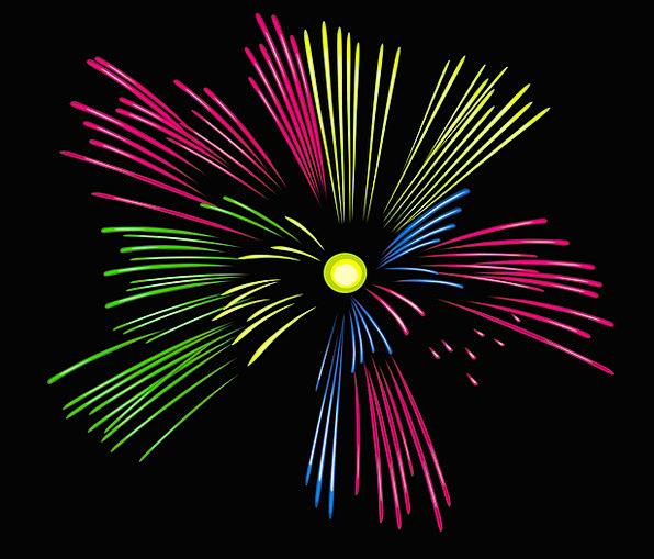 Fireworks Rockets Celebratory Explosion Bang Festi