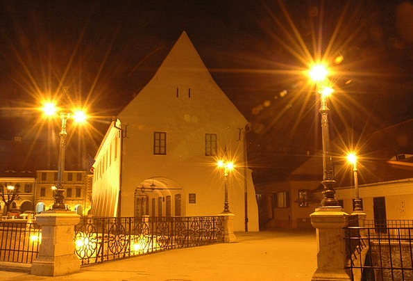 Liar Bridge Buildings Architecture Romania Sibiu L