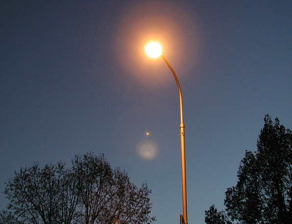 Street Lamp Uplighter Light Bright Lamp Night Nigh