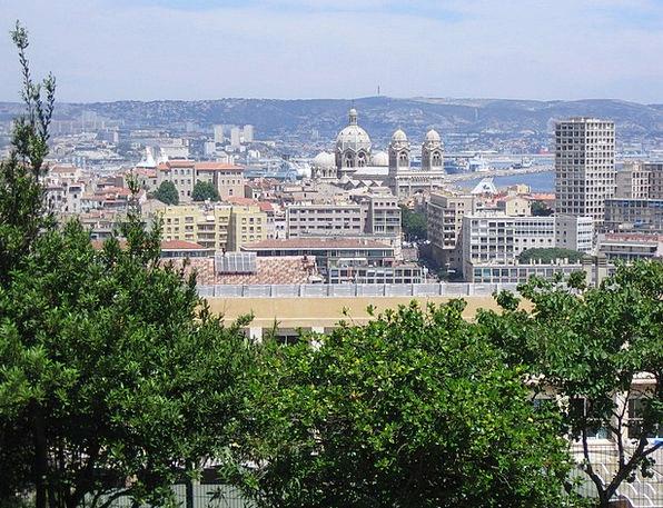 Marseille Buildings Architecture City Urban France