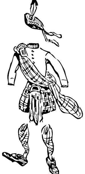 Scotsman Masculine Clothing Sartorial Male Highlan