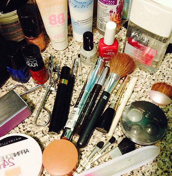 Cosmetics Makeups Makeup Blush Rouge Mascara Cream