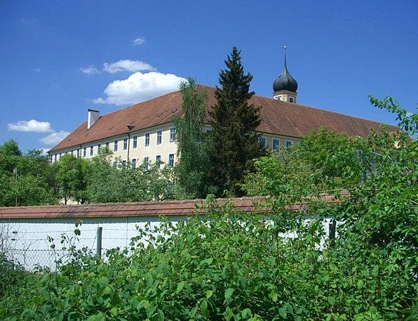 Cistercian Abbey Monastery Wall Oberschönenfeld Sw