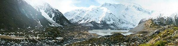 New Zealand Landscapes Scenery Nature Mountain Cra