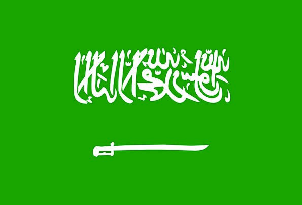 Saudi Standard Arabia Flag Free Vector Graphics Co