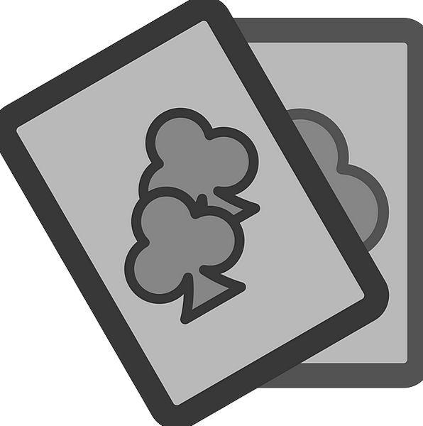 Cards Postcards Bats Poker Clubs Club Bat Symbol S