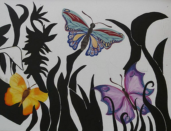 Butterflies Nerves Physical Art Animal Painting Im