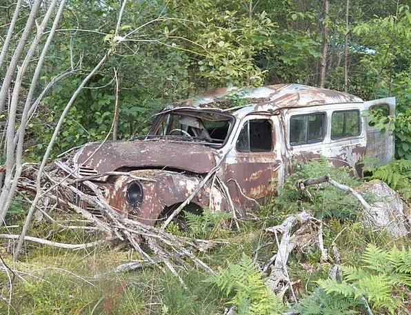 Car Carriage Traffic Jumble Transportation Rust Co
