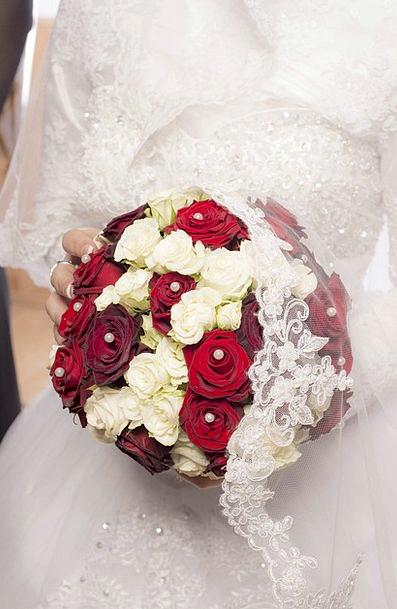 Wedding Bridal Fluke Love Darling Luck Bride And G