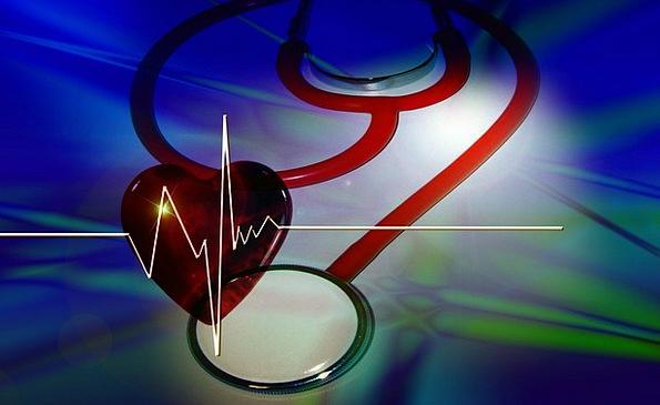 Stestoskop Medical Emotion Health Curve Arc Heart