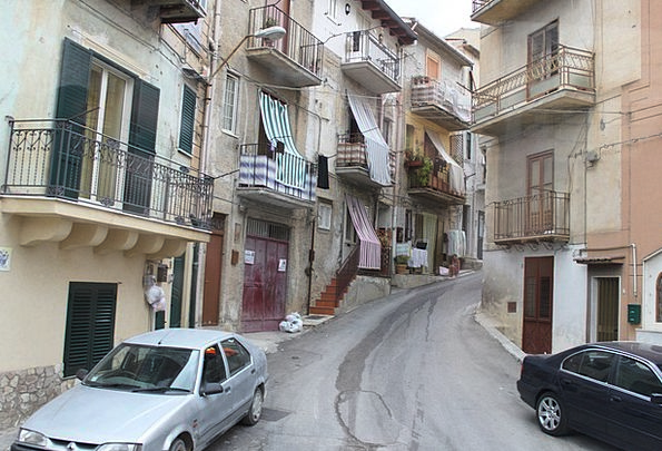 Street In Palermo Buildings Urban Architecture Pal