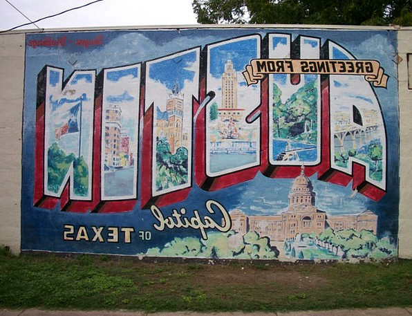 Austin Drawings Mural Fresco Graffiti Texas Painti