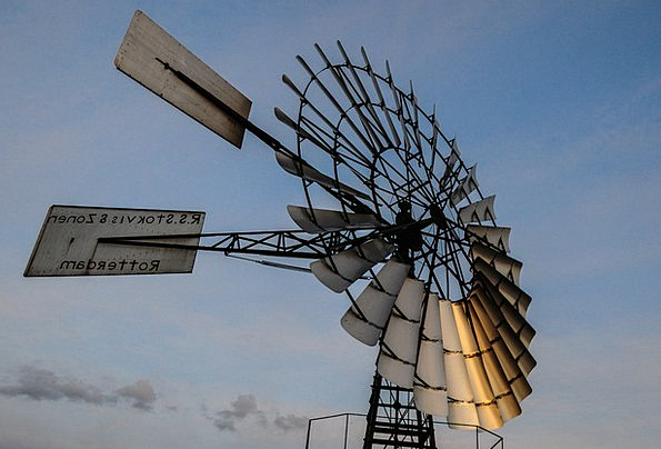 Windmill Rural Country Wind Energy Power Environme