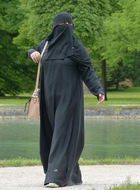 Burka Fashion Lady Beauty Muslim Woman Black Girl