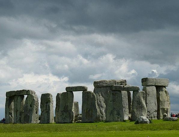 Stonehenge Landscapes Nature Megalithic Structure