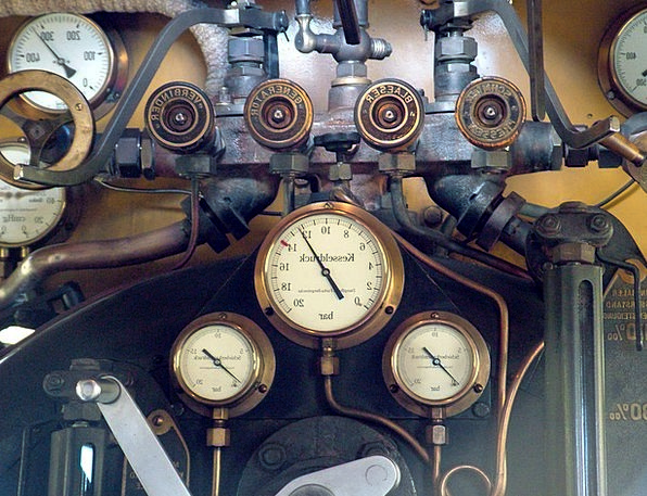 Railway Train Historically Factually Locomotive Ca
