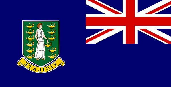 British Standard Virgin Flag Islands Isles Identit