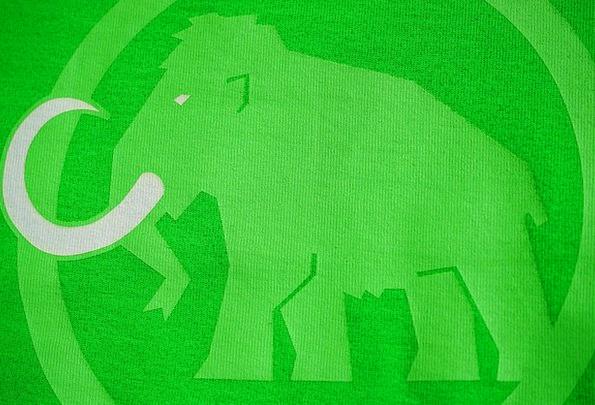 Mammoth Enormous Symbol Brand Make Logo Pressure G