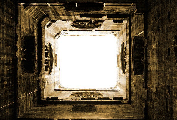 Abbey Cloister Buildings Barbican Architecture Arc
