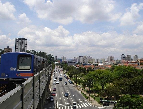Sao Paulo Buildings Architecture City Brazil Summe