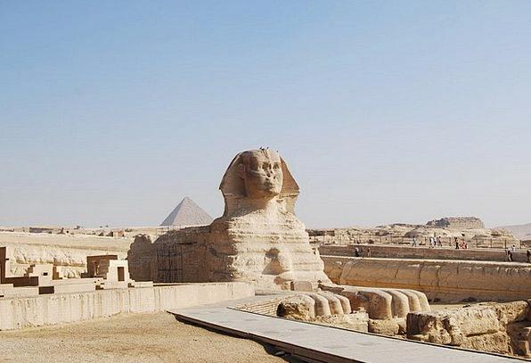 Sphinx Buildings Architecture Egypt Gizeh Statue F