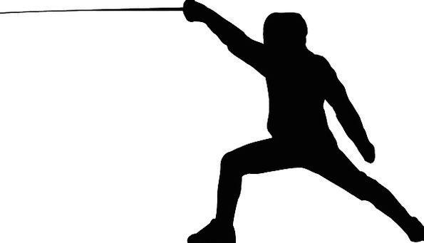 Fencing Fence Swordsman Foil Fencing Fencer Free V