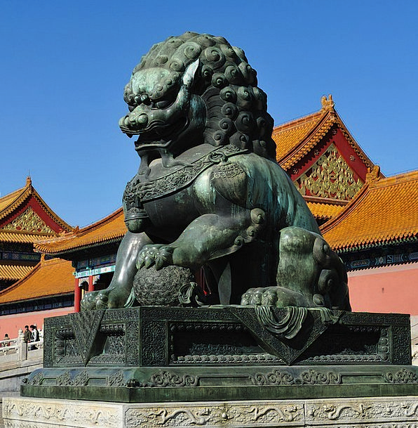 Lion Charm Beijing Character The National Palace M